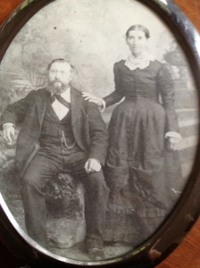 My Great, Great Grandparents, Christian and Amelia