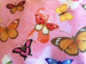 Butterflies designed by artist Chris Chun