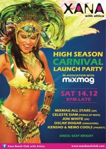 XANA-Carnival Flyer