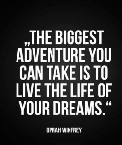 Live your Dreams Oprah