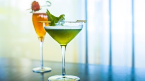 Champ's Green Martini