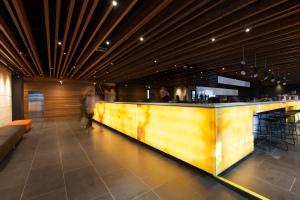 The Jasper Hotel's lobby