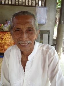 Bali medicine man Cekorda