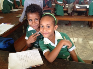 Fiji School Kids