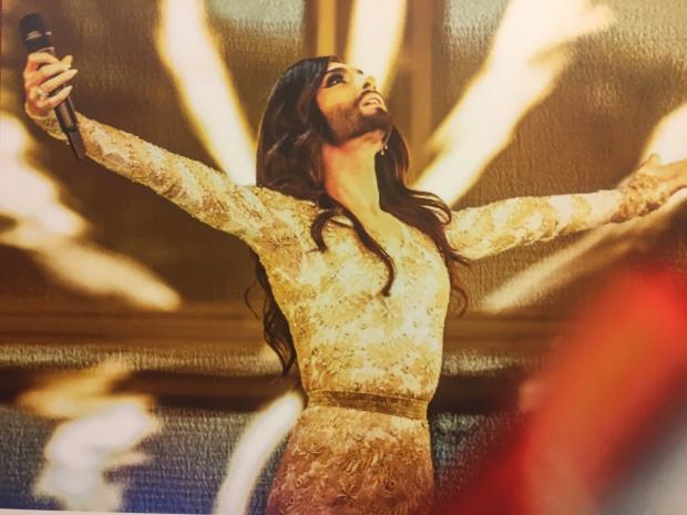 The incredible Conchita Wurst