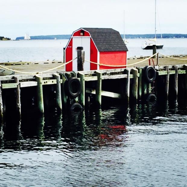 Even on fishermen's shacks