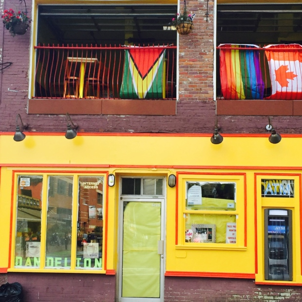 This shop in Halifax was as golden as the sun
